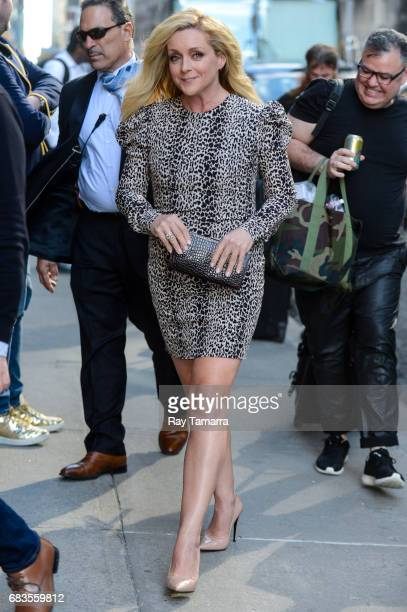 Actress Jane Krakowski enters the The Late Show With Stephen Colbert taping at the Ed Sullivan Theater on May 15 2017 in New York City