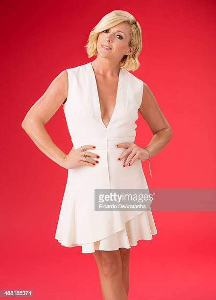 Actress Jane Krakowski is photographed for Los Angeles Times on August 14 2015 in Los Angeles California PUBLISHED IMAGE CREDIT MUST READ Ricardo...