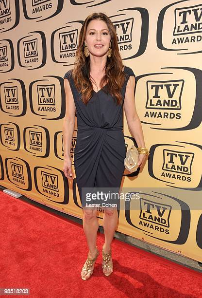 Actress Jane Leeves arrives at the 8th Annual TV Land Awards at Sony Studios on April 17 2010 in Los Angeles California