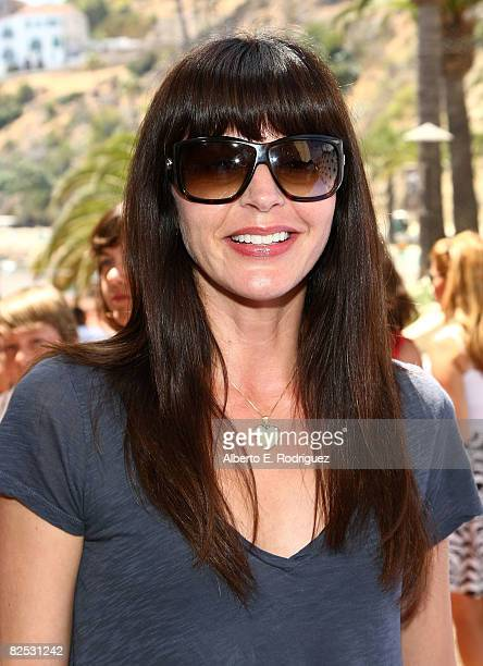 Actress Jane Leeves arrives at the DVD launch of Walt Disney's 'Little Mermaid Ariel's Beginning held at the Avalon Casino on Catalina Island on...