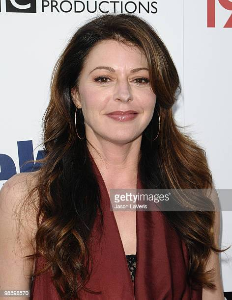 Actress Jane Leeves attends the BritWeek champagne launch red carpet event at the British Consul General's residence on April 20 2010 in Los Angeles...
