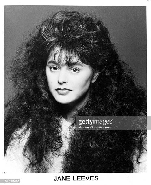Actress Jane Leeves poses for a portrait in circa 1985