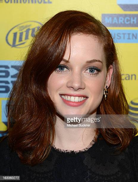 Actress Jane Levy arrives at the screening of 'Evil Dead' during the 2013 SXSW Music Film Interactive Festival at the Paramount Theatre on March 8...
