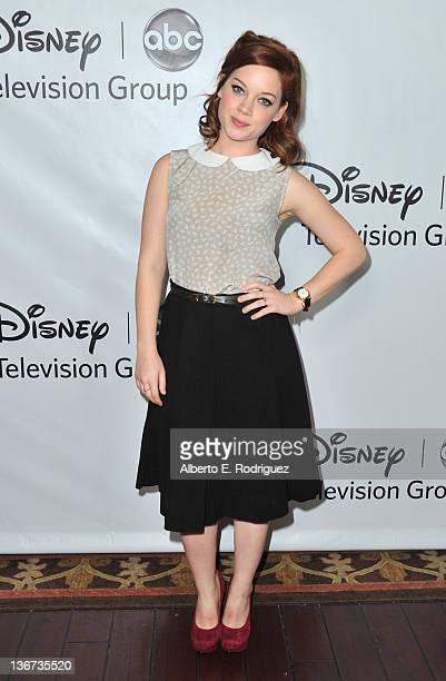 Actress Jane Levy arrives to the Disney ABC Television Group's 'TCA Winter Press Tour' on January 10 2012 in Pasadena California