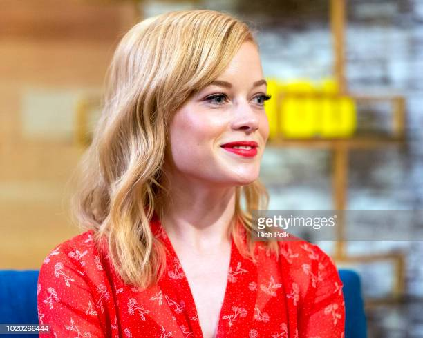 Actress Jane Levy visits 'The IMDb Show' on August 13 2018 in Studio City California This episode of 'The IMDb Show' airs on August 23 2018