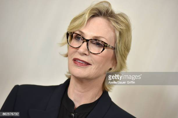 Actress Jane Lynch arrives at Hammer Museum Gala in the Garden on October 14 2017 in Westwood California