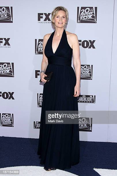 Actress Jane Lynch arrives at NBC Universal's 69th Annual Golden Globe Awards After Party at The Beverly Hilton hotel on January 15 2012 in Beverly...