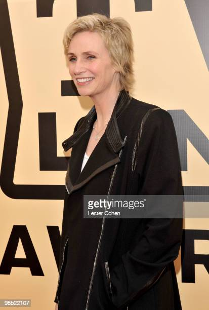 Actress Jane Lynch arrives at the 8th Annual TV Land Awards at Sony Studios on April 17, 2010 in Los Angeles, California.
