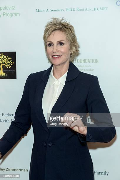 Actress Jane Lynch arrives for the 42nd Annual Maple Ball at The Montage Hotel on October 26 2016 in Beverly Hills California