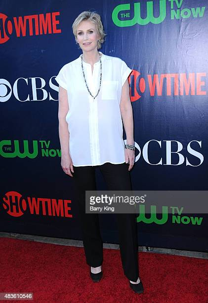 Actress Jane Lynch attends CBS' 2015 Summer TCA Party at Pacific Design Center on August 10 2015 in West Hollywood California