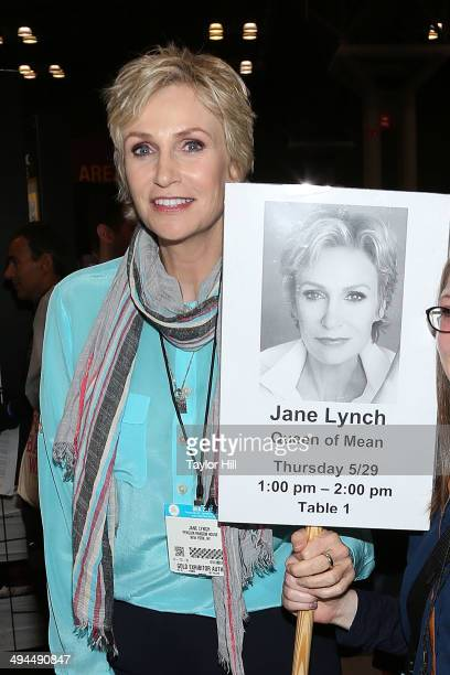 Actress Jane Lynch attends day 1 of the 2014 Bookexpo America at The Jacob K. Javits Convention Center on May 29, 2014 in New York City.