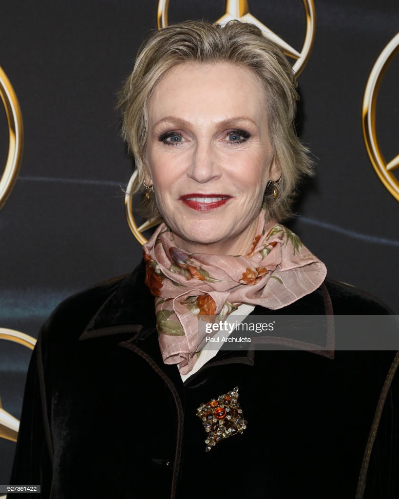 Actress Jane Lynch attends Mercedez-Benz USA's official Awards viewing party at The Four Seasons Hotel Los Angeles at Beverly Hills on March 4, 2018 in Los Angeles, California.