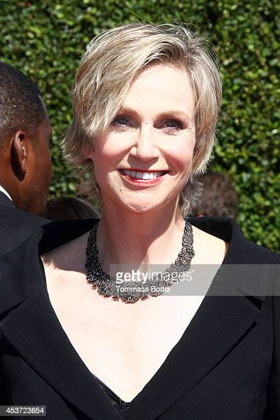 Actress Jane Lynch attends the 2014 Creative Arts Emmy Awards held at the Nokia Theatre LA Live on August 16 2014 in Los Angeles California