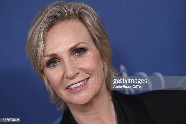 Actress Jane Lynch attends the 2014 Princess Grace Awards Gala at the Beverly Wilshire Four Seasons Hotel on October 8 2014 in Beverly Hills...