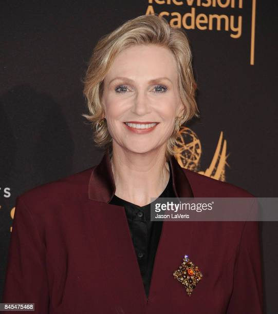 Actress Jane Lynch attends the 2017 Creative Arts Emmy Awards at Microsoft Theater on September 10 2017 in Los Angeles California