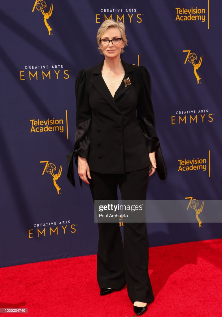 Actress Jane Lynch attends the 2018 Creative Arts Emmy Awards - Day 2 at the Microsoft Theater on September 9, 2018 in Los Angeles, California.