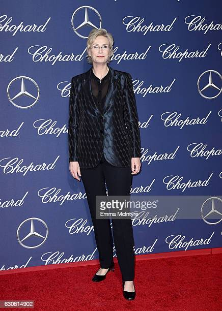 Actress Jane Lynch attends the 28th Annual Palm Springs International Film Festival Film Awards Gala at the Palm Springs Convention Center on January...