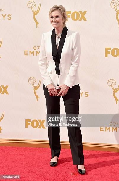 Actress Jane Lynch attends the 67th Emmy Awards at Microsoft Theater on September 20 2015 in Los Angeles California 25720_001