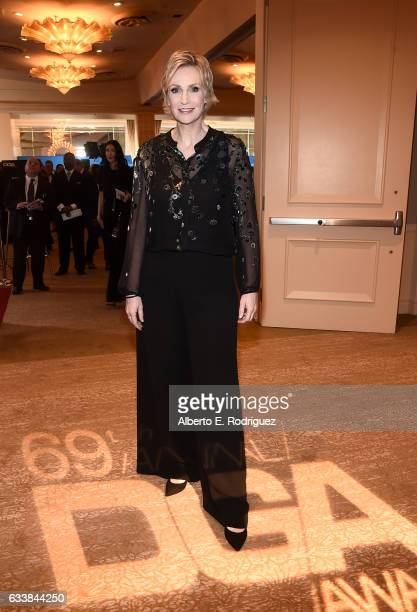 Actress Jane Lynch attends the 69th Annual Directors Guild of America Awards at The Beverly Hilton Hotel on February 4 2017 in Beverly Hills...