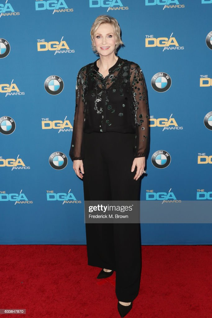 Actress Jane Lynch attends the 69th Annual Directors Guild of America Awards at The Beverly Hilton Hotel on February 4, 2017 in Beverly Hills, California.