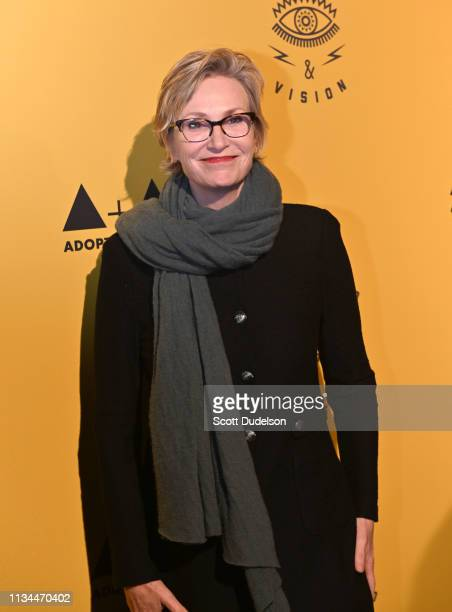 Actress Jane Lynch attends the 7th Annual Adopt the Arts Benefit Gala at The Wiltern on March 07 2019 in Los Angeles California