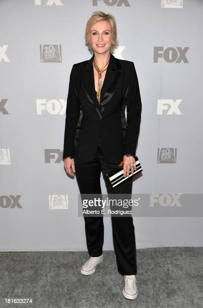Actress Jane Lynch attends the FOX Broadcasting Company, Twentieth Century FOX Television and FX Post Emmy Party at Soleto on September 22, 2013 in...