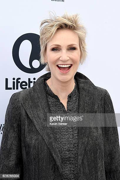 Actress Jane Lynch attends The Hollywood Reporter's Annual Women in Entertainment Breakfast in Los Angeles at Milk Studios on December 7 2016 in...