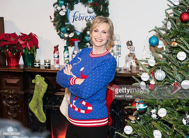 Actress Jane Lynch attends 'The of Christmas' video debut at Lightbox on November 30 2015 in New York City
