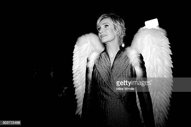 Actress Jane Lynch attends the People's Choice Awards 2016 at Microsoft Theater on January 6 2016 in Los Angeles California