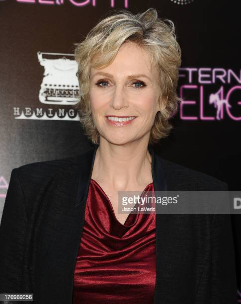 Actress Jane Lynch attends the premiere of 'Afternoon Delight' at ArcLight Hollywood on August 19 2013 in Hollywood California