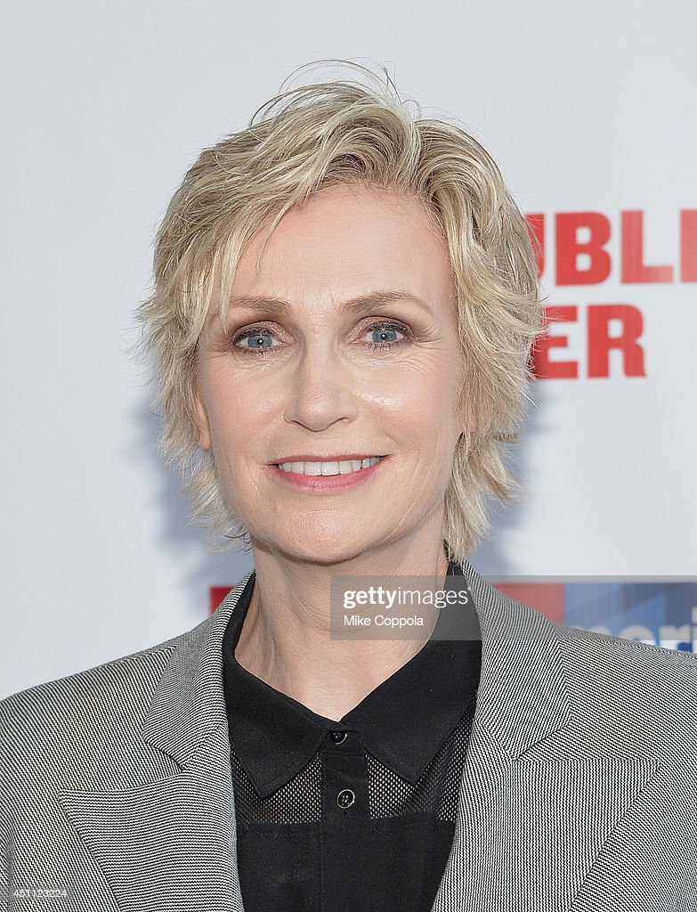Actress Jane Lynch attends the Public Theater's 2014 Gala celebrating 'One Thrilling Combination' on June 23, 2014 in New York, United States.