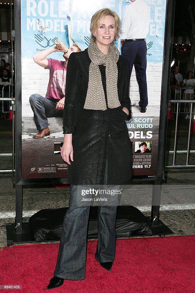 Actress Jane Lynch attends the world premiere of