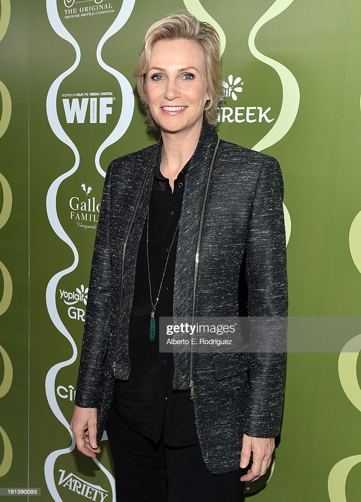 Actress Jane Lynch attends Variety & Women In Film Pre-Emmy Event presented by Yoplait Greek at Scarpetta on September 20, 2013 in Beverly Hills, California.
