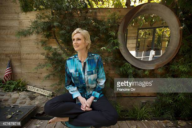 Actress Jane Lynch is photographed for Los Angeles Times on April 15 2015 in Los Angeles California PUBLISHED IMAGE CREDIT MUST READ Francine Orr/Los...