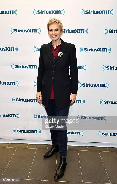 Actress Jane Lynch visits SiriusXM Studio on November 17 2016 in New York City