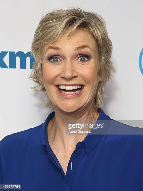 Actress Jane Lynch visits the SiriusXM Studios on July 10 2014 in New York City