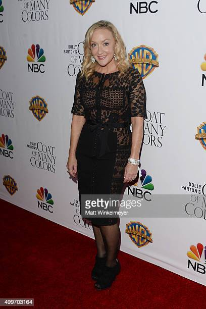 Actress Jane McNeill arrives at the premiere of Warner Bros Television's Dolly Parton's Coat of Many Colors at the Egyptian Theatre on December 2...