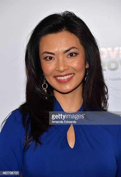 Actress Jane Park Smith arrives at the AARP 14th Annual Movies For Grownups Awards Gala at the Beverly Wilshire Four Seasons Hotel on February 2 2015...