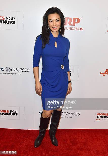Actress Jane Park Smith arrives to AARP The Magazine's 14th Annual Movies For Grownups Awards Gala at the Beverly Wilshire Four Seasons Hotel on...