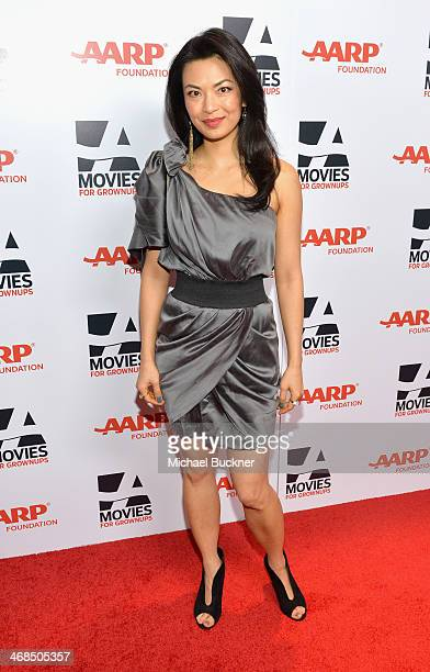 Actress Jane Park Smith attends 13th Annual AARP's Movies for Grownups Awards Gala at Regent Beverly Wilshire Hotel on February 10 2014 in Beverly...