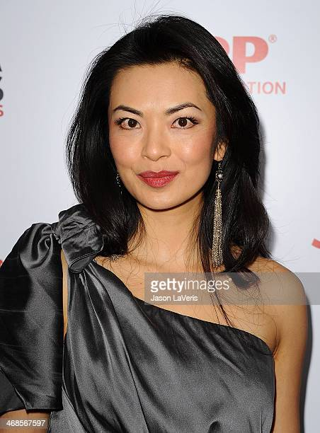 Actress Jane Park Smith attends the 13th annual AARP's Movies For Grownups Awards gala at Regent Beverly Wilshire Hotel on February 10 2014 in...