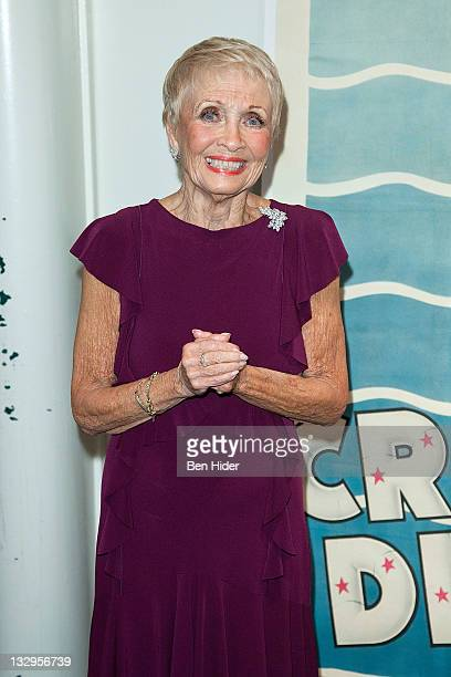 Actress Jane Powell attends An Evening With Jane Powell at The Film Society of Lincoln Center, Walter Reade Theatre on November 15, 2011 in New York...