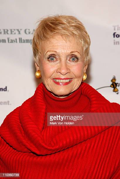 Actress Jane Powell attends the Grey Gardens From East Hampton to Broadway New York Premiere on March 3 2008 in New York City
