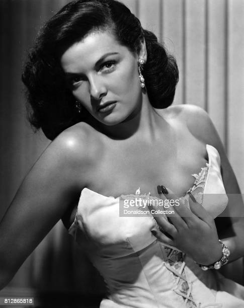 Actress Jane Russell in a portrait session for the movie Montana Belle which was released in November 1952