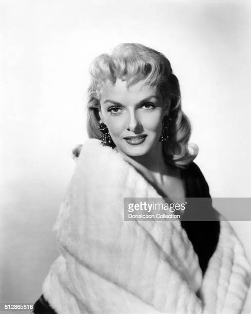 d62d60fddb Actress Jane Russell in a portrait session for the movie  the Fuzzy Pink  Nightgown