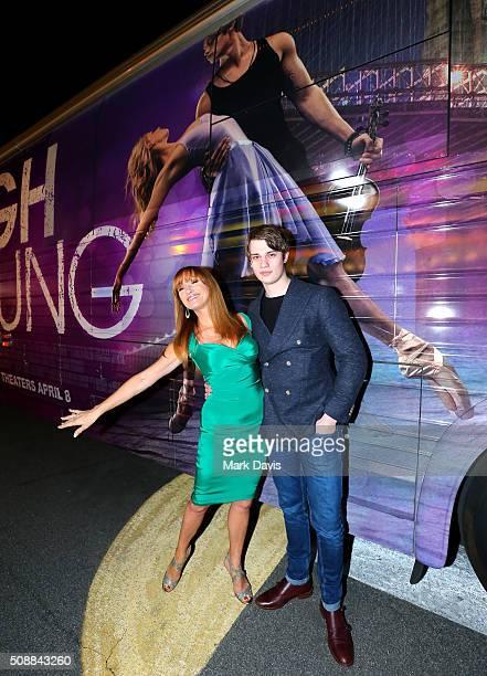 Actress Jane Seymour and Kristopher Steven Keach attends the Virtuosos Award at the Arlington Theater at the 31th Santa Barbara International Film...