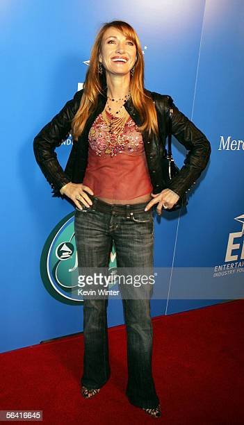Actress Jane Seymour arrives at Grammy Jams' celebration of Stevie Wonder at the Orpheum Theater on December 10 2005 in Los Angeles California