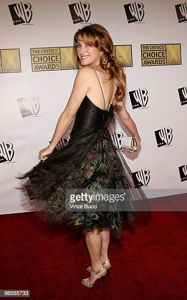 Actress Jane Seymour arrives at the 11th Annual Critics' Choice Awards held at the Santa Monica Civic Auditorium on January 9, 2006 in Santa Monica,...