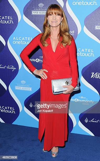 Actress Jane Seymour arrives at the 2nd Annual Unite4humanity Event at The Beverly Hilton Hotel on February 19 2015 in Beverly Hills California