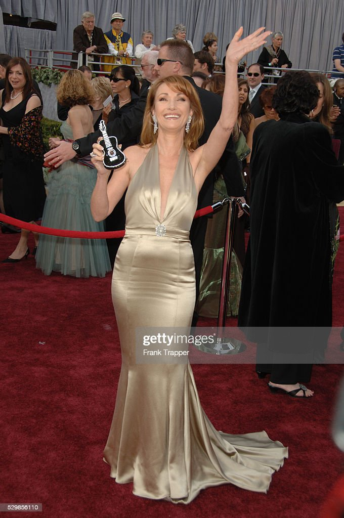 Actress Jane Seymour Arrives At The 78th Academy Awards Held